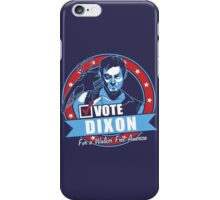 Vote Dixon iPhone Case/Skin