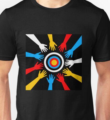 hands goal Unisex T-Shirt