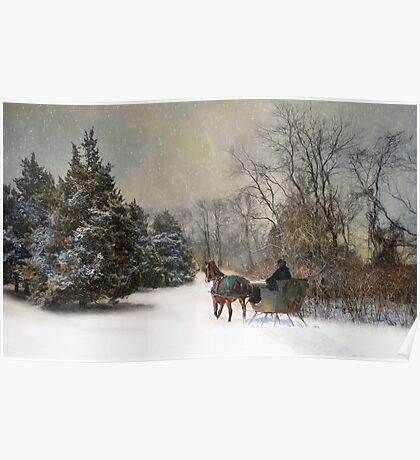 The Christmas Sleigh Poster