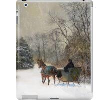 The Christmas Sleigh iPad Case/Skin