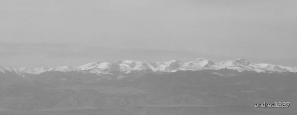 Black and White of the Rockies by andrea1227