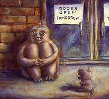 Doors Open Tomorrow by Cindy Schnackel