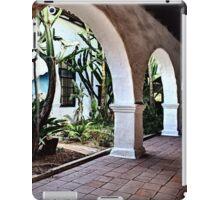 San Diego MIssion Arches iPad Case/Skin