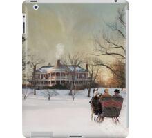 Sleigh Ride at Sunset iPad Case/Skin