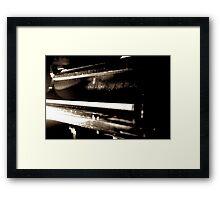 Phthegma Framed Print