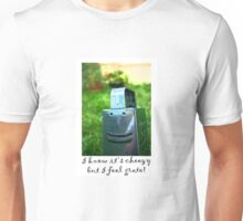 I know it's cheesy, but I feel Grate! Unisex T-Shirt