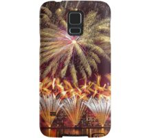 Fireworks over the Charles River.  Samsung Galaxy Case/Skin