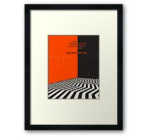 TWIN PEAKS: FIRE WALK WITH ME Framed Print