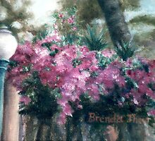 Cascading Flowers by Brenda Thour