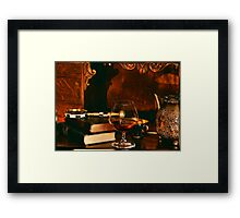 Break Framed Print