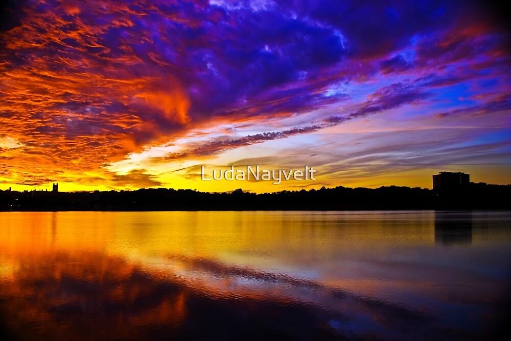 Burning sky 2 by LudaNayvelt