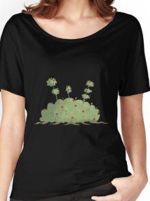 Glitch Ix Land  shrub green 02 Women's Relaxed Fit T-Shirt