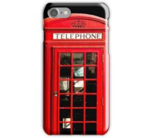 Red London Phone Box iPhone Case/Skin