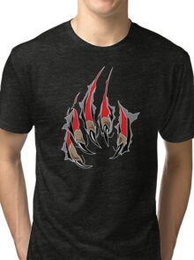 Ripping Claws Tri-blend T-Shirt