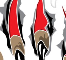 Ripping Claws Sticker