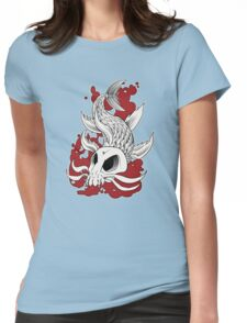 Blood in the Water Womens Fitted T-Shirt