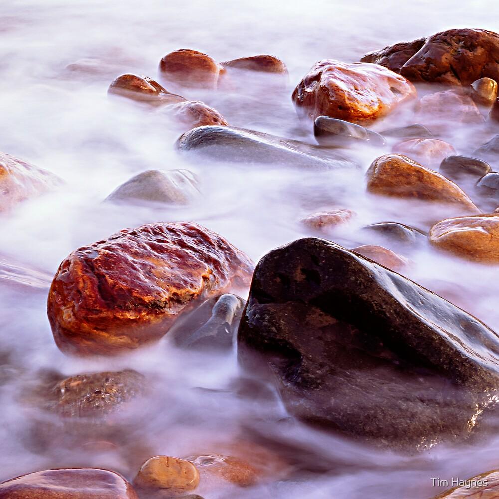 Crail Harbour Rocks by Tim Haynes