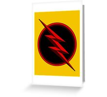 Reverse Flash/Professor Zoom Greeting Card