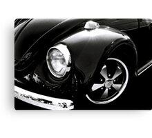 Black Beetle Canvas Print