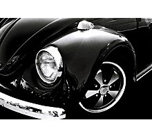 Black Beetle Photographic Print