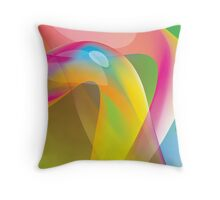 Wormy Throw Pillow