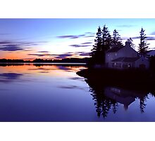 The Watermans House Photographic Print