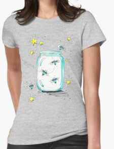 """Fireflies"" Womens Fitted T-Shirt"