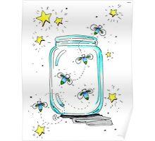 """""""Fireflies"""" Poster"""