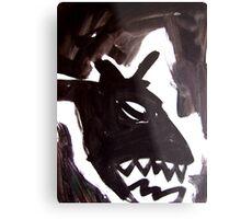 Horsey 4 Metal Print