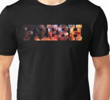 Colorful Colliding Star Clusters | Fresh Universe Logo Unisex T-Shirt