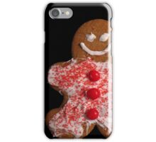 Gingerbread Cookies Christmas Card iPhone Case/Skin
