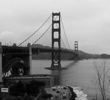 Golden Gate Bridge by saintseiya