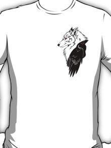 Wolf and Raven T-Shirt