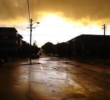 Coogee after a Rain storm by Amanda Cole
