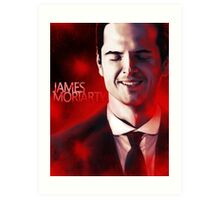 James Moriarty & Red Art Print