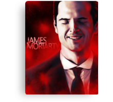 James Moriarty & Red Canvas Print