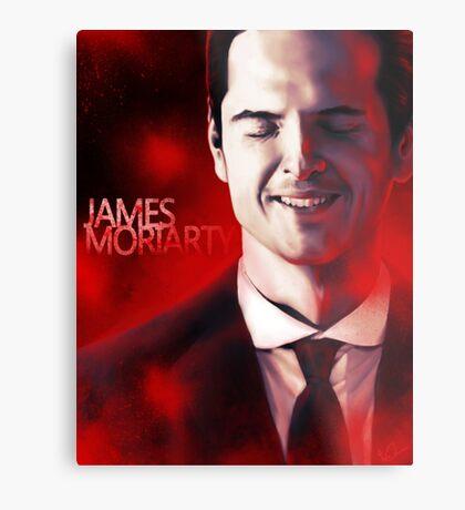 James Moriarty & Red Metal Print