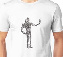 Cute Cylon taking a Selfie Unisex T-Shirt