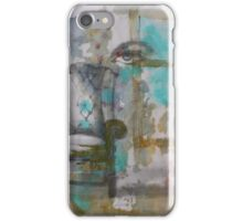 Green armchair iPhone Case/Skin