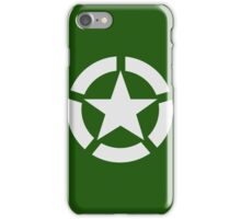 Allied Star (White) iPhone Case/Skin