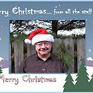Merry Christmas... from all the staff (me) by © Bob Hall