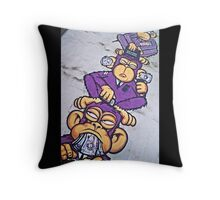 Corporate greed- see no evil, hear no evil, speak no evil! Throw Pillow