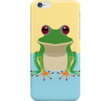 FROG IN WATER iPhone Case/Skin