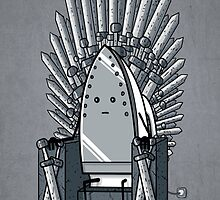 The iron throne by Pamajxd2