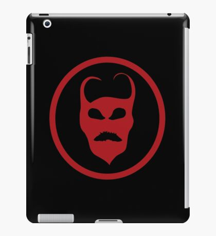 Devil Symbol Logo iPad Case/Skin