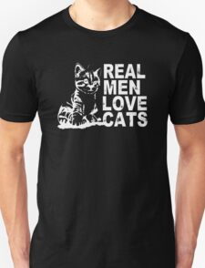Real Man Love Cats T-Shirt