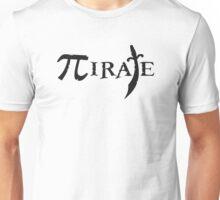 Pi Symbol Pirate Unisex T-Shirt