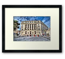 United States Post Office and Courthouse Framed Print