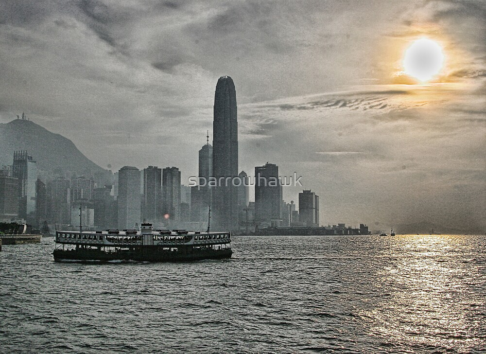 Hong Kong - Star Ferry by sparrowhawk