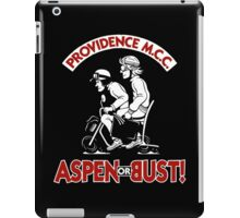 Aspen or Bust! iPad Case/Skin